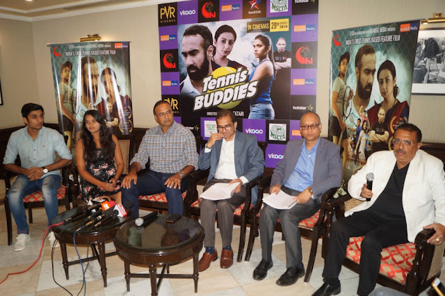 Tennis Buddies Press Conference in Delhi