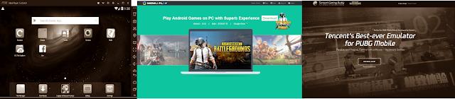 Beberapa Emulator Android Yang Sering Digunakan Untuk Bermain Game Di PC Atau Laptop