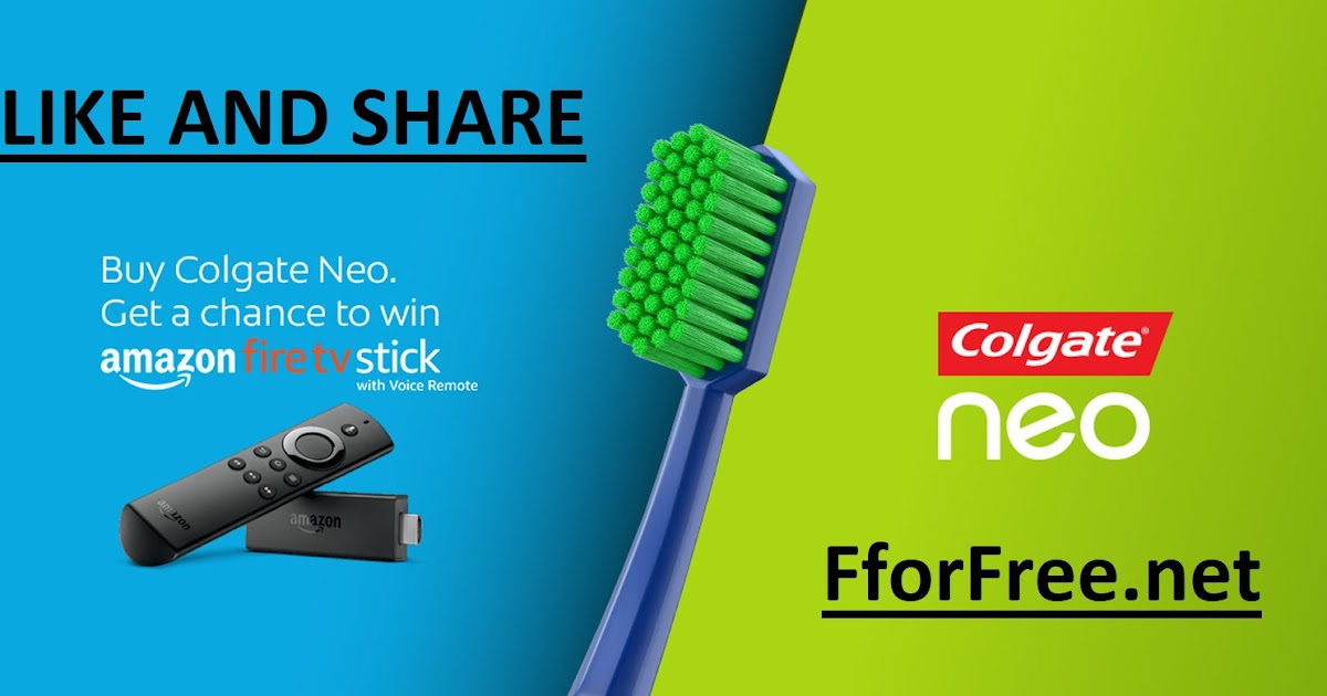 Colgate India My Neo Style Offer Win 32 Amazon Fire TV