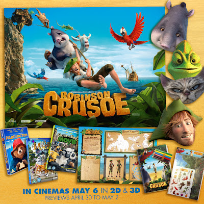 Robinson Crusoe giveaway