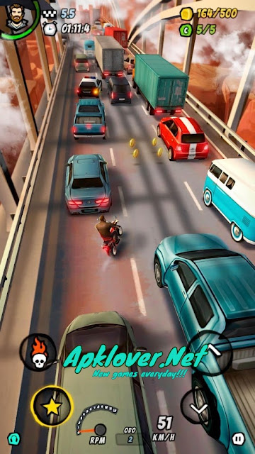 Moto Racing 2 Burning Asphalt MOD APK unlimited money