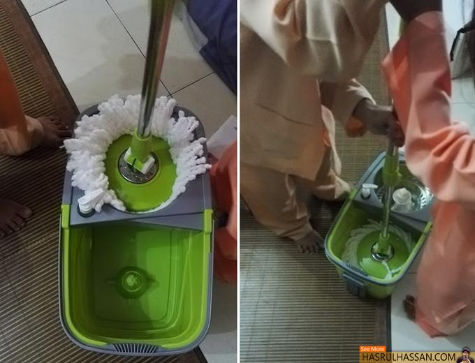 Review Beli Easy Mop dari Lazada Malaysia