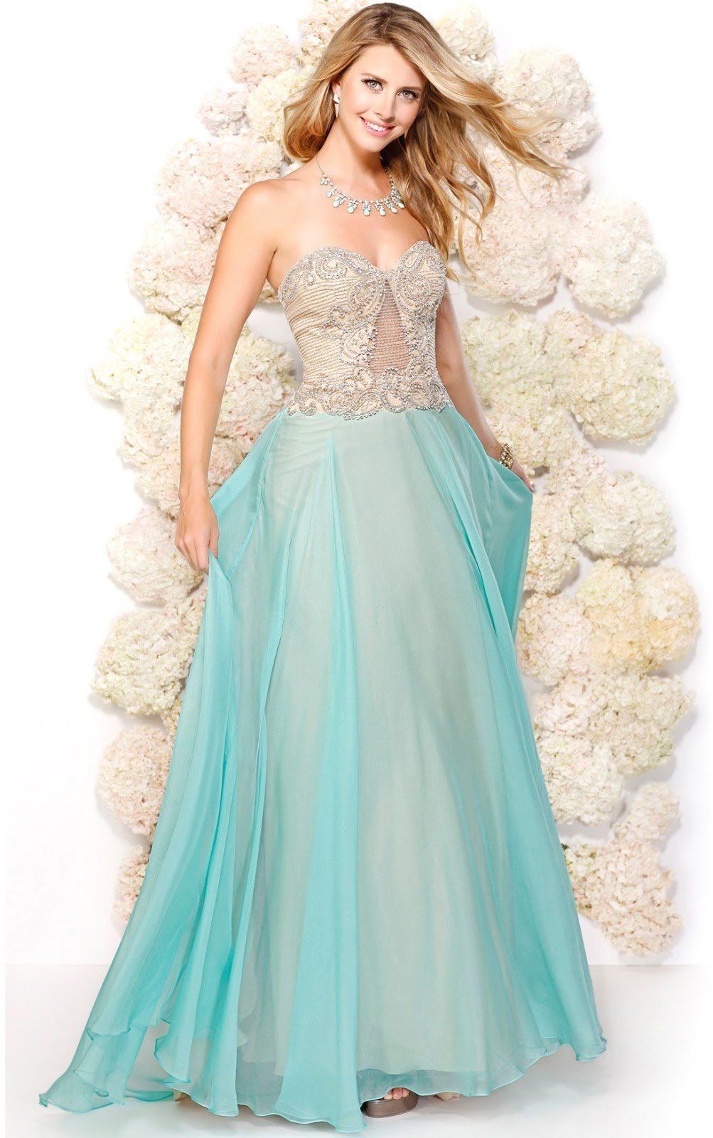 Prom Dress 2016 Collection Sherry London Luch Luch Craft