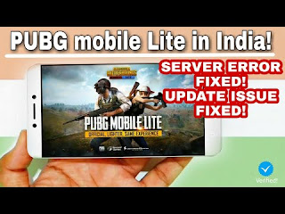 PUBG mobile Lite in India! | Server Error Fix & Updated | All Android phones | 250mb Only!😮