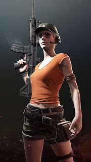 pubg wallpaper hd for whatsapp background girl pose
