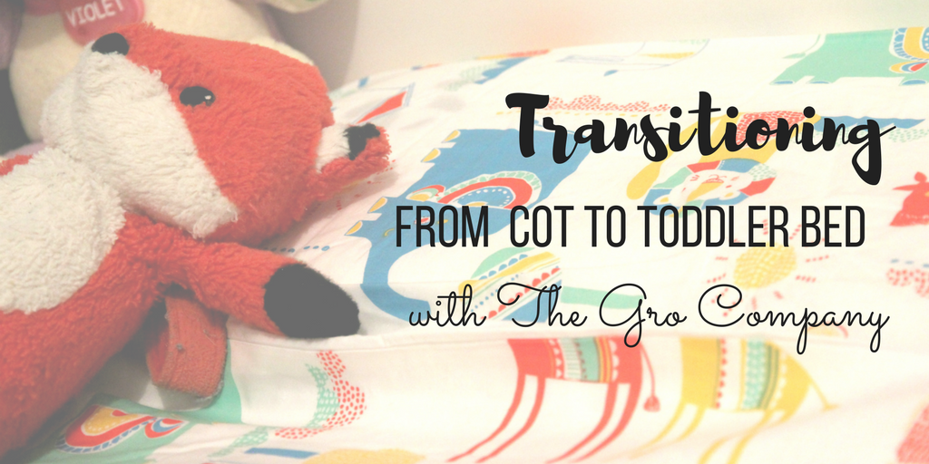 Need some help and advice on how to transition your toddler from a cot to a toddler bed?