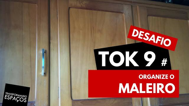Organize o maleiro! - Tok 9 | 52 toks de organização e decor