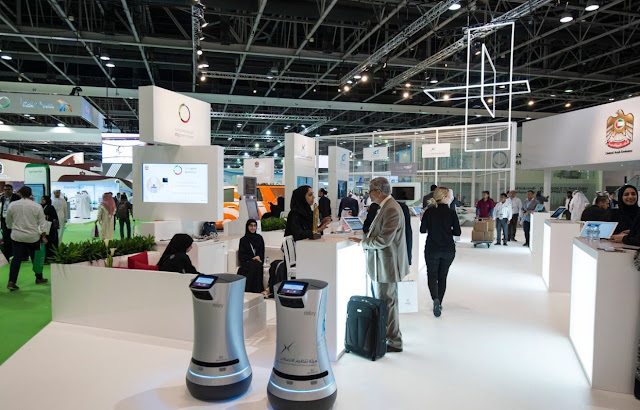 Telecommunications Regulatory Authority displays 'Erteqaa' initiative for telecoms service centers in the UAE during GITEX 2016