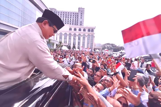 umat islam dunia berharap prabowo presiden