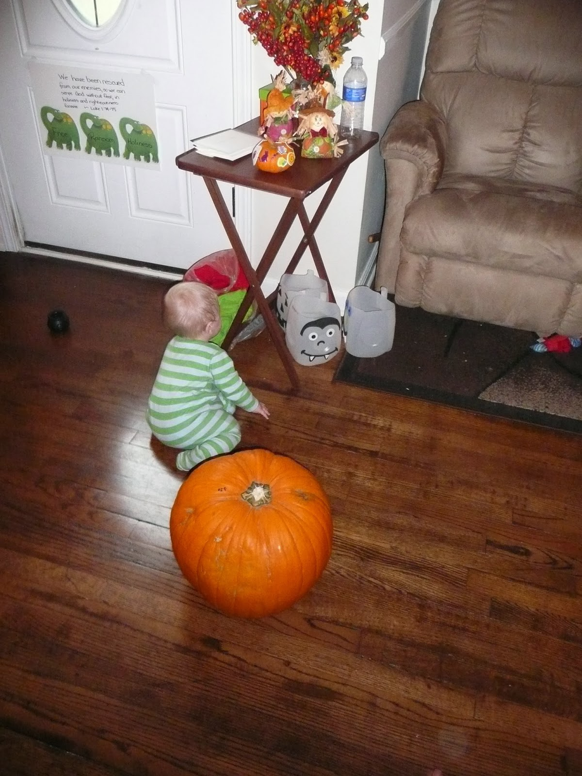 Sonshine Tot School Day 1 Pumpkin Theme