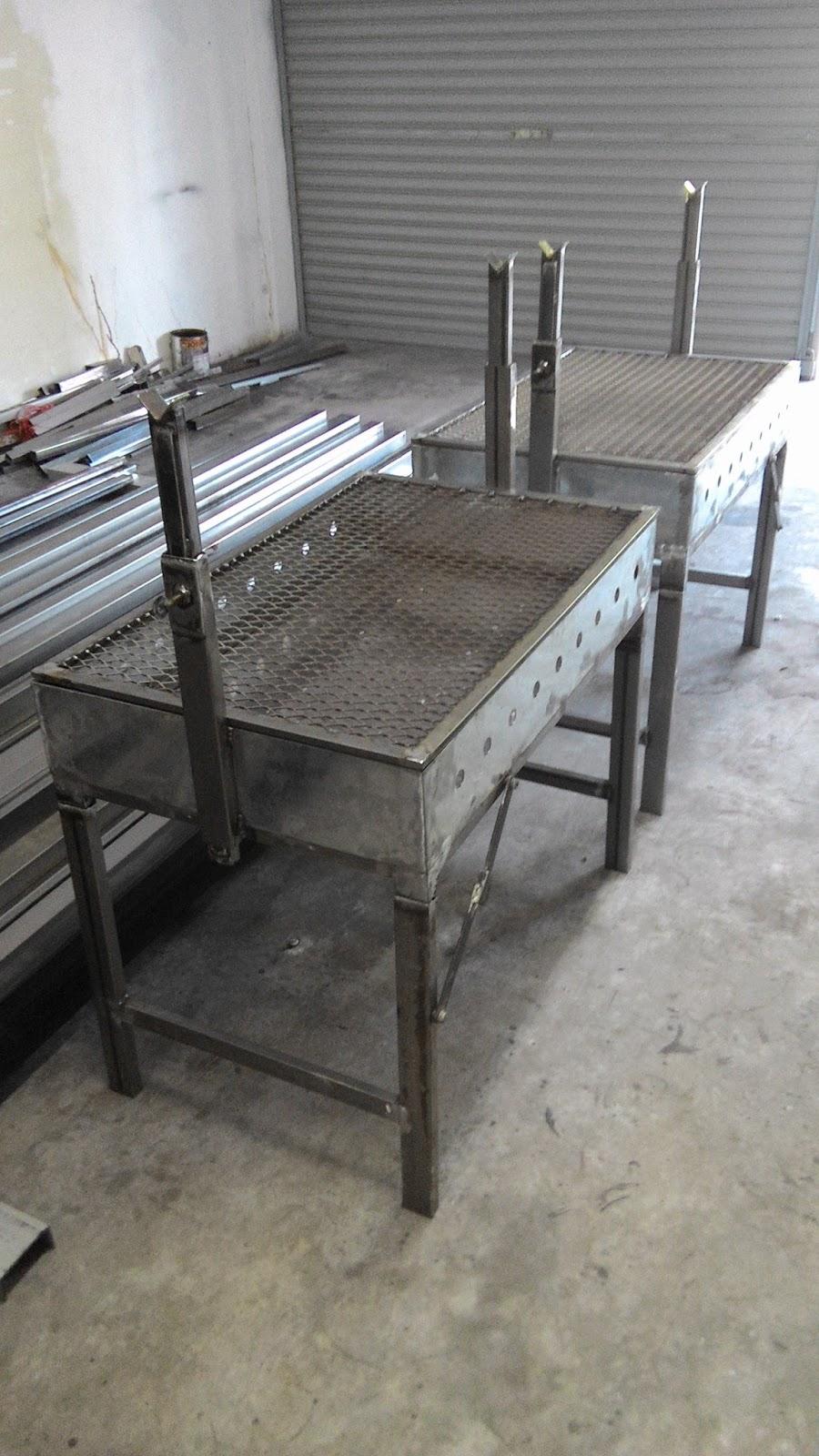 Awning Pagola Dan Grill Membuat Set Bbq Alat