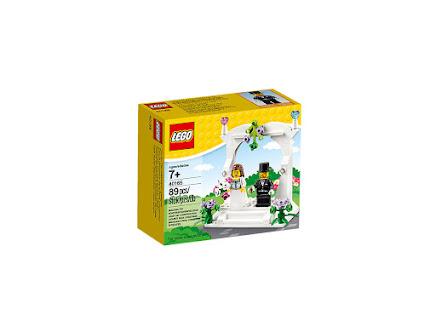 LEGO 40165 - Upominkowy zestaw ślubny