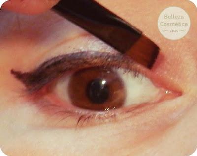 Delineado ojos fácil rabillo