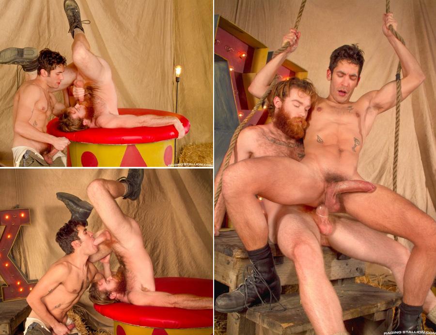 Trepada gay no circo