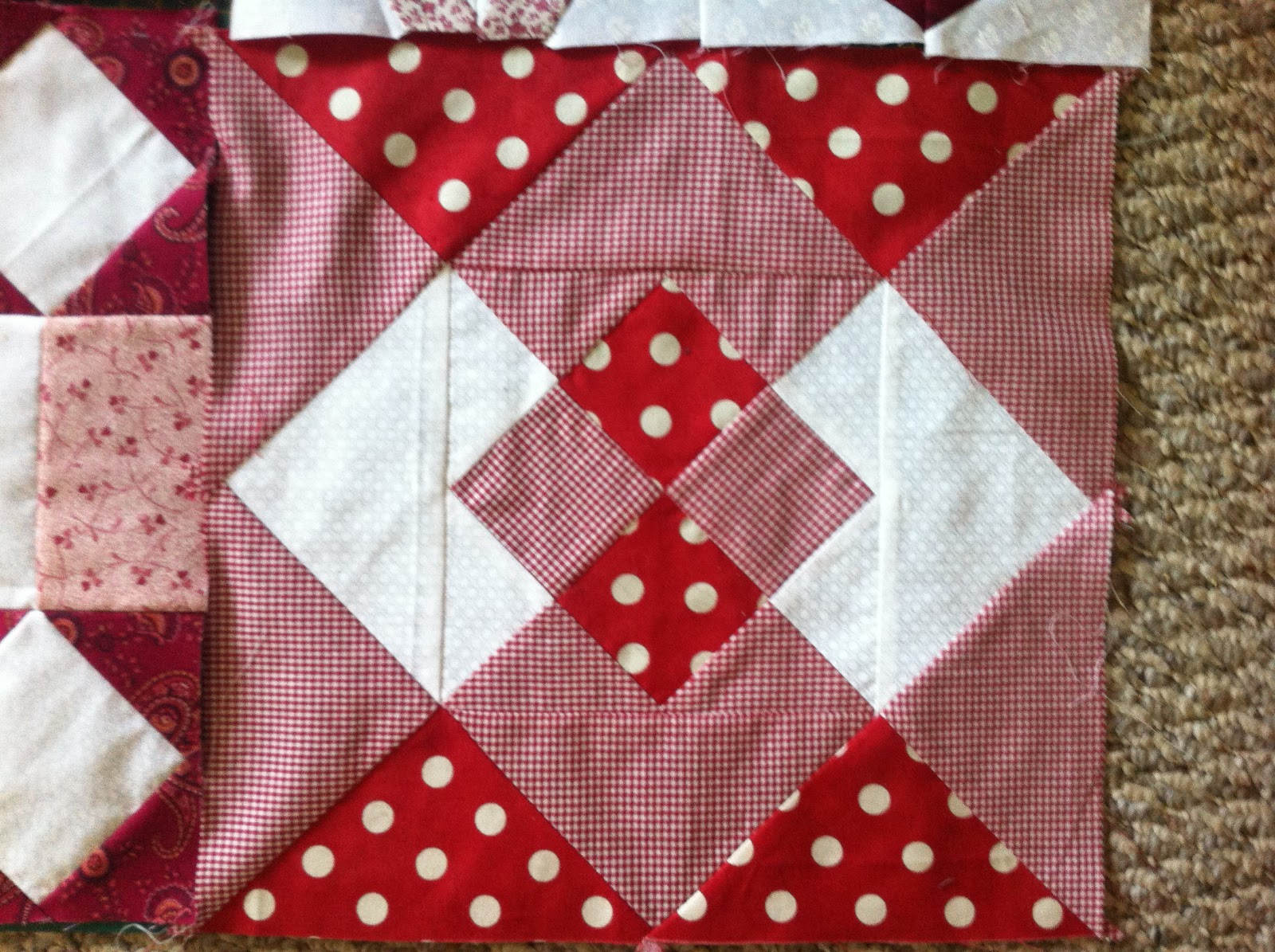 A Quilting We Will Go Rubies Diamonds And Garnets Too