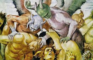 Risultati immagini per bibbia inferno