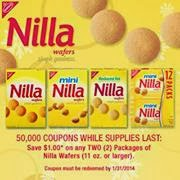Nilla Wafers Coupon