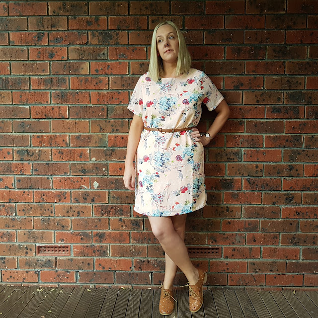 yumi floral shift dress | Almost Posh