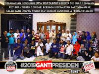 Ikut Konsolidasi Nasional, Relawan #2019GantiPresiden Sumut Kirim Delegasi