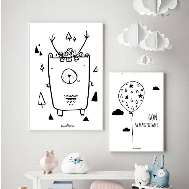 darmowe plakaty do druku dla dzieci