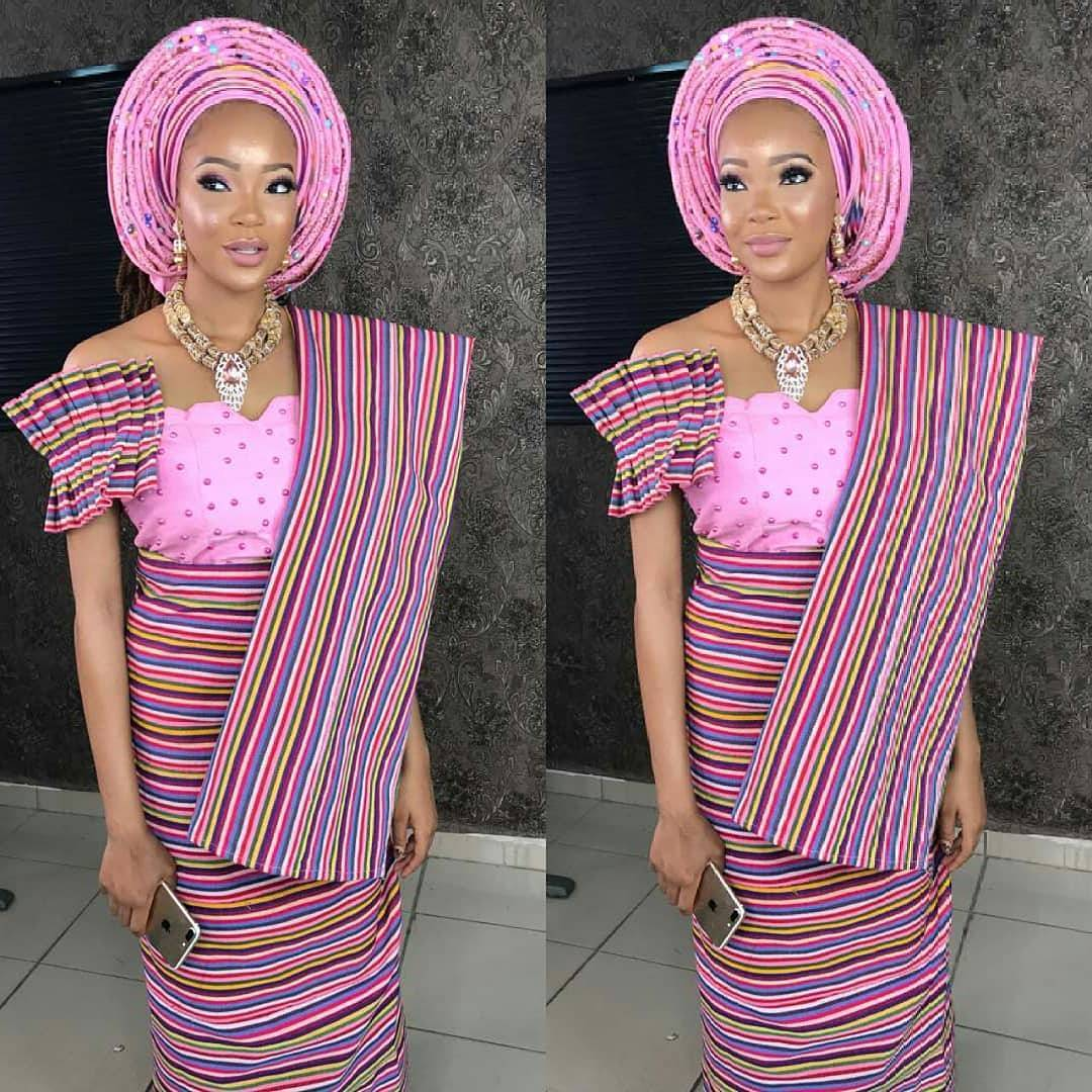 Latest 50 Pictures Of Aso-Ebi Fashion Styles