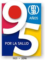 Logotipo 95 aniversario Asociación Médica de Bahía Blanca
