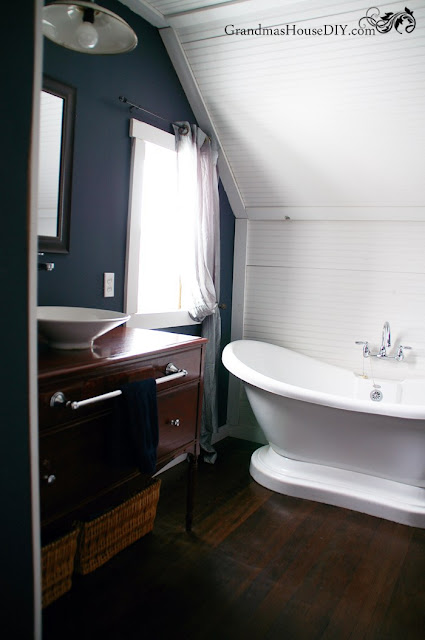 modern farmhouse tub