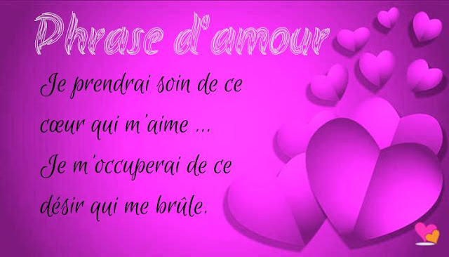 joli phrase d'amour