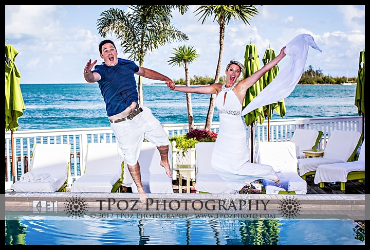 Key West Trash the Dress Wedding Session