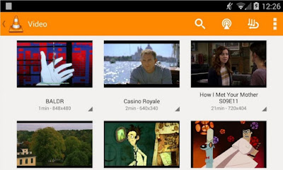 Free Download VLC 2.0.5 APK for Android