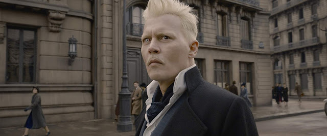 Johnny Depp in Fantastic Beasts: The Crimes of Grindelwald (2018)