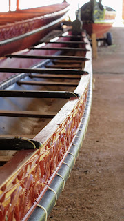 Things to do in the Bay of Islands New Zealand: Maori canoe at the Waitangi Treaty Grounds