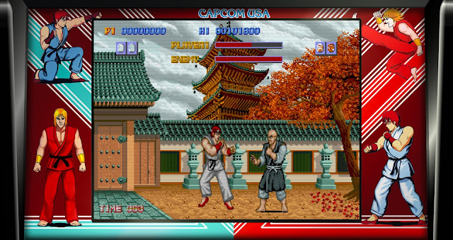 Street Fighter 30th Anniversary Collection - Street Fighter 1