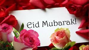 EID Mubarak and a Happy New Month to All our viewers