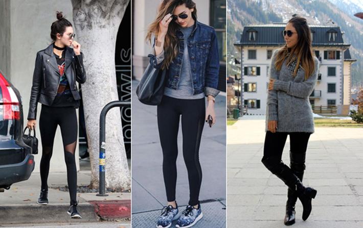 Como usar legging sem errar na hora de se vestir