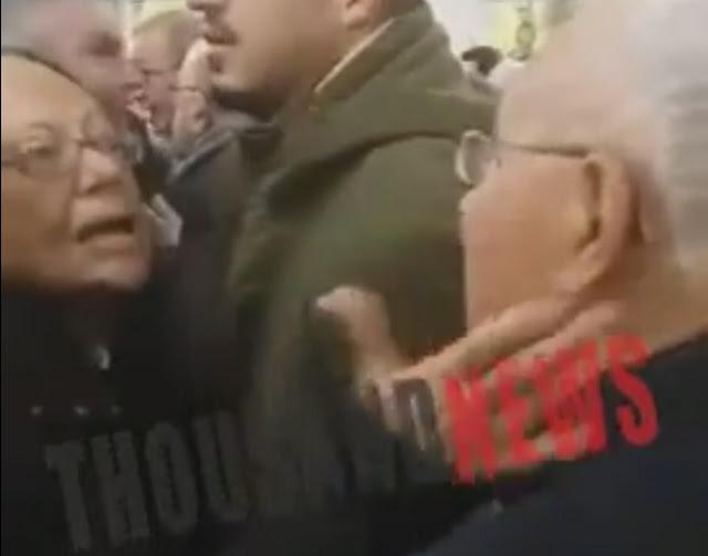 Αυτή η γυναίκα χαστούκισε τον Ζουράρι! Ο έντονος διάλογος στην εκκλησία (ΒΙΝΤΕΟ)