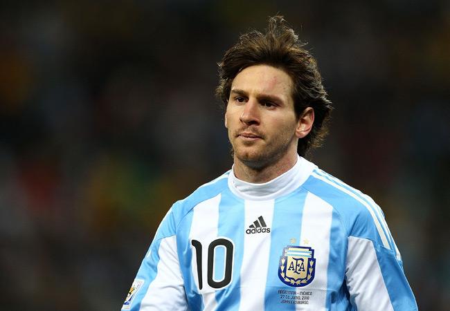 Lionel Messi Cedera