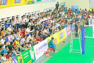 Giải bóng chuyền trẻ các CLB toàn quốc 2018:  20 đội bóng tranh tài
