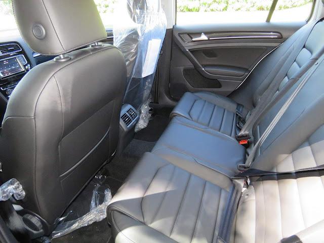 Volkswagen Golf TSI Comfortline 125 cv - espaço para os passageiros traseiros