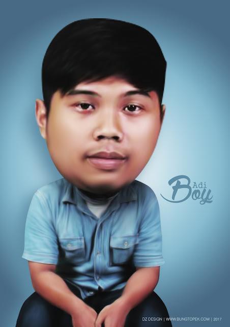 Karikatur Adi Boy Ibrahim
