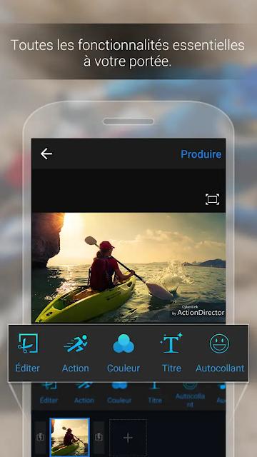 تحميل تطبيق ActionDirector لتعديل الفيديو للاندرويد بإحترافية وبرابط مباشر