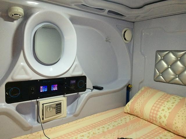 太空艙內部設備