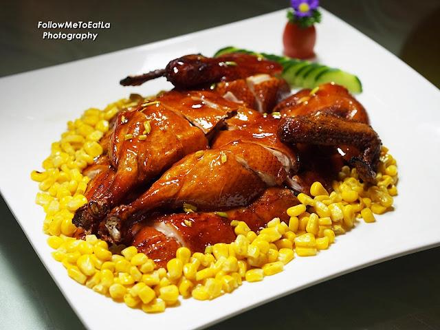 Roast Baby Duck With Sweet Corn  RM 50 each