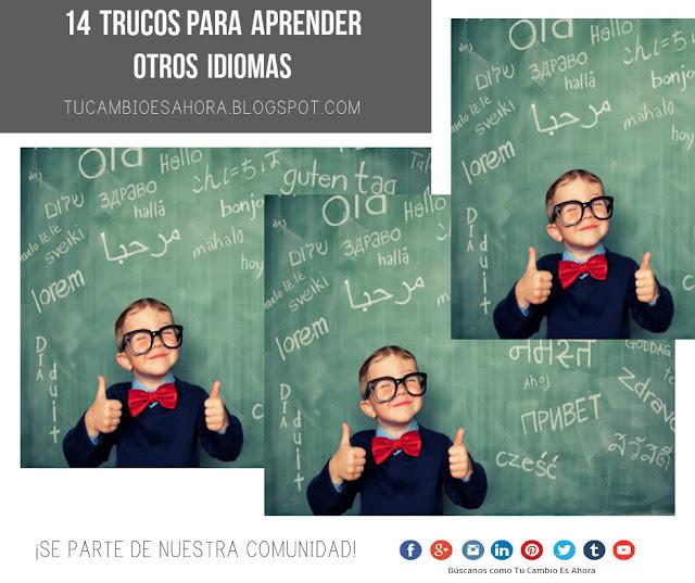 Recomendaciones para aprender otro idioma