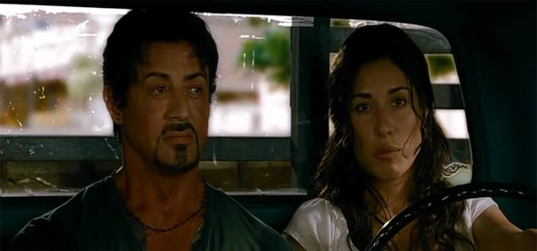 Screen Shot Of Hollywood Movie The Expendables (2010) In Hindi English Full Movie Free Download And Watch Online at worldofree.co