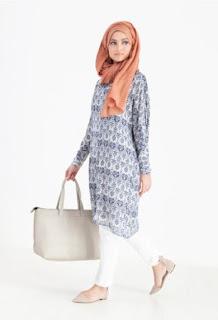 Baju atasan muslim modis