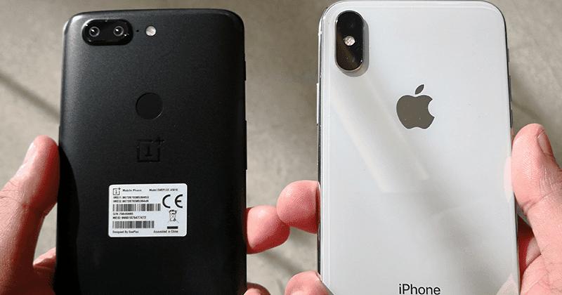 oneplus 5t camera vs iphone 7 plus