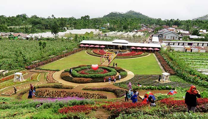 Taman Bunga Kutabawa; Purbalingga