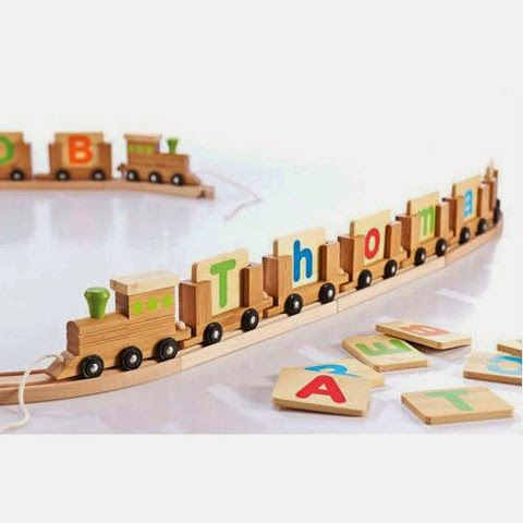 Get Best Personalised Name Train Set For Kids