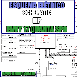 Esquema Elétrico Notebook HP Envy 17 SP8 Quanta Laptop Manual de Serviço  Service Manual schematic Diagram Notebook HP Envy 17 SP8 Quanta Laptop   Esquematico Notebook Placa Mãe HP Envy 17 SP8 QuantaLaptop